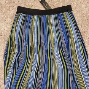 Worthington Zoey Striped Skirt